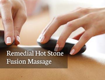 remedial hot stone massage
